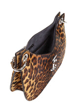 Load image into Gallery viewer, JIMMY CHOO leopard print Varenne hobo tote bag