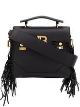 Load image into Gallery viewer, BALMAIN B-Buzz 23 fringed tote bag