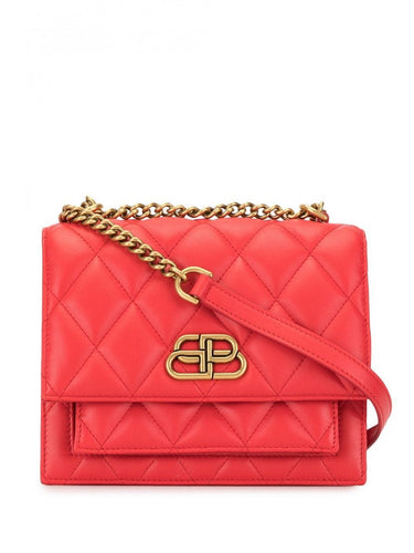 BALENCIAGA sharp small quilted crossbody bag