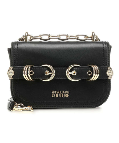 VERSACE JEANS COUTURE belt detail crossbody bag
