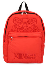 Load image into Gallery viewer, KENZO Tiger logo padded packpack
