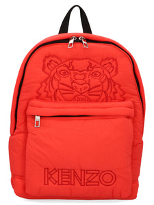 KENZO Tiger logo padded packpack