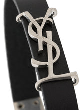 Load image into Gallery viewer, SAINT LAURENT logo-plaque buckled bracelet