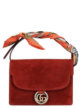 Load image into Gallery viewer, GUCCI scarf-detail shoulder bag