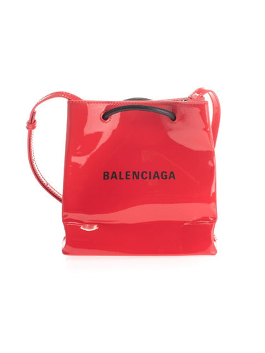BALENCIAGA logo shoulder bag