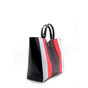 Furla - Vertical stripe handbag