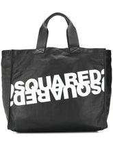Load image into Gallery viewer, DSQUARED2 logo leather tote bag