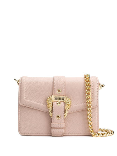 VERSACE JEANS COUTURE Baroque buckle detail shoulder bag