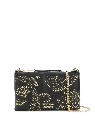 VERSACE JEANS COUTURE stud embellished crossbody bag