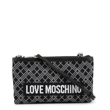 Load image into Gallery viewer, Love Moschino Intarsia knit clutch bag