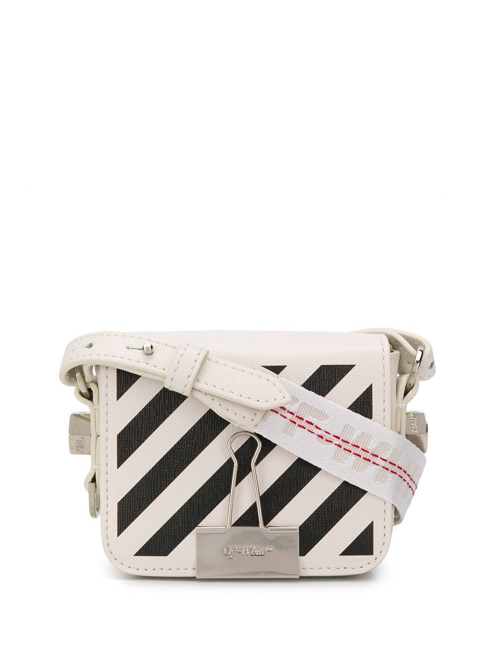 OFF-WHITE Diag mini crossbody bag
