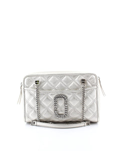 MARC JACOBS quilted snapshot shoulder bag