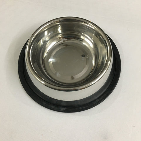 Set Of 2 Steel Bowls For Animals
