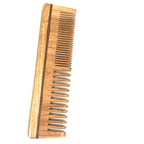 Unisex, Eco-Friendly And Natural Neem Comb In Large Size Wide And Close