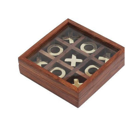 Tic-Tac-Toe Foldable Board Game