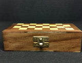 Foldable 10.5 Inch Rosewood Chessboard Game