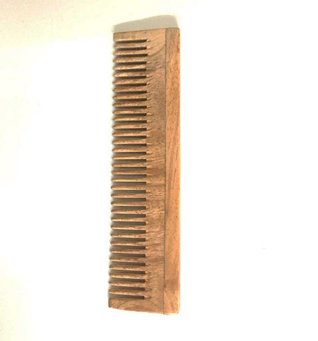 Unisex, Eco-Friendly And Natural Neem Comb In Small Size