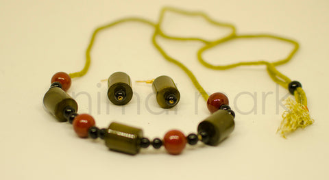 Traditional Toys - Necklace Set - Cylindrical Shape