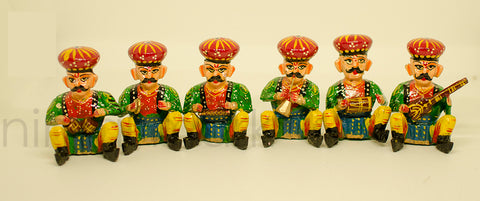 Traditional Toys - Music Band - Six Different Poses