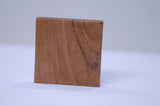 Teak Wood Paperweight / Showpiece Item- Nameplate - BE KIND -  back view