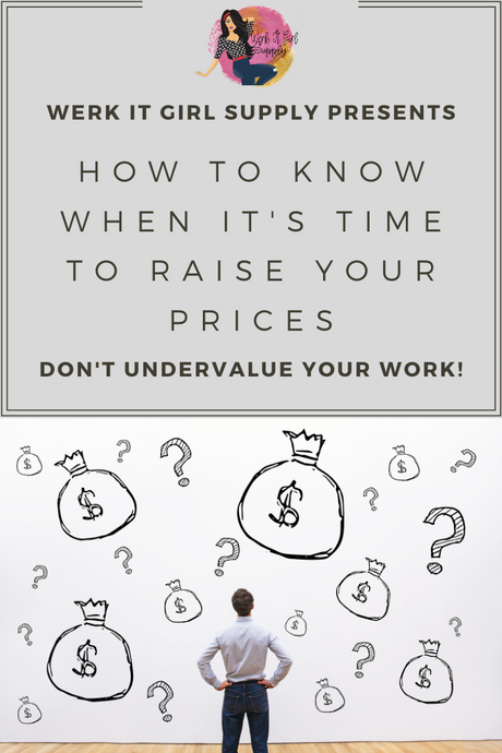How to Know When It's Time to Raise Your Prices