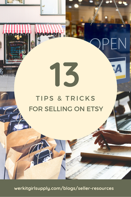 13 Etsy Tips & Tricks