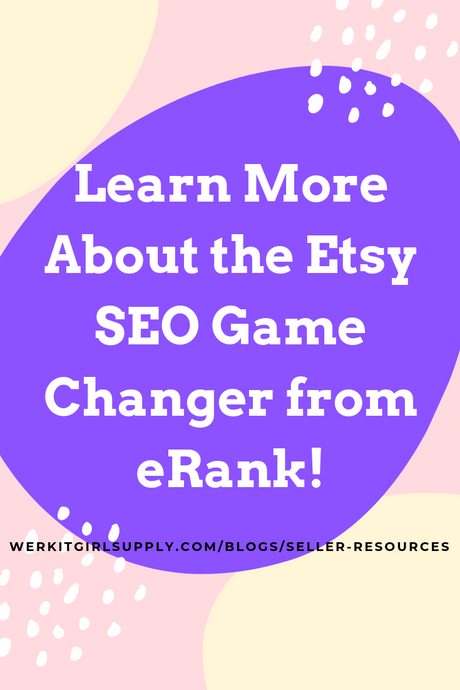 Etsy SEO Game Changer from eRank