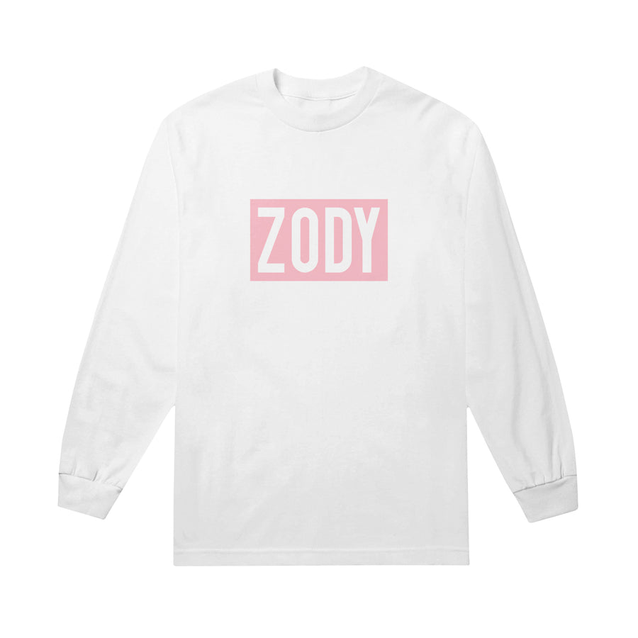 Box Logo Pink White