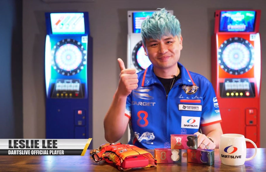 Featuring DARTSLIVE OFFICIAL Player, Leslie Lee