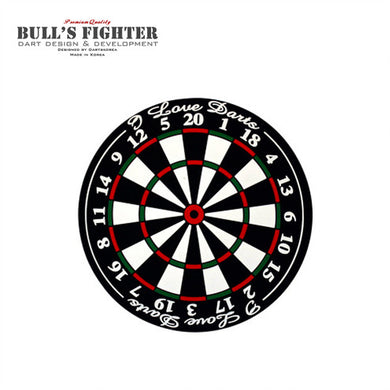 Bull's Flighter I Love Darts Coaster
