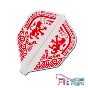 Fit Flight Printed Series/ Cosmo Darts Crest Shape