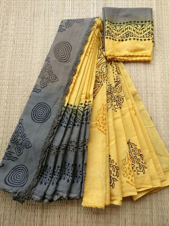 Linen Digital Printed Saree MS-11254