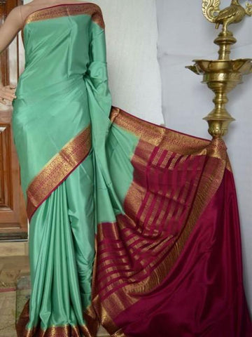 Beautiful Rani  Colour Soft Silk Designer Saree UK1342