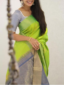 Latest New Colour Soft Silk Designer Saree UK1376