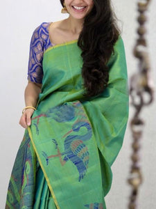 Beautiful Soft Silk Designer Saree UK1897