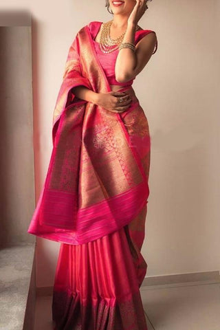 Awosome Colour Soft Silk Designer Saree UK30028
