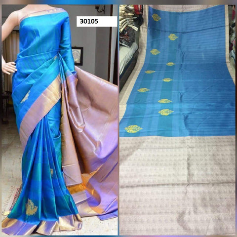 Awosome Colour Soft Silk Designer Saree UK30105