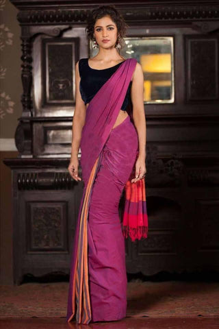 Beautiful Colour Soft Silk Designer Saree UK30122