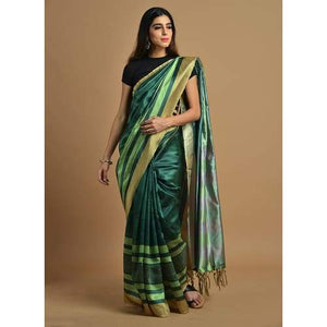 Awosome Colour Soft Silk Designer Saree UK30125