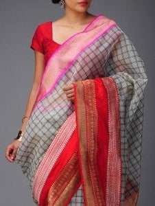 Beautiful Colour Soft Silk Designer Saree UK30127