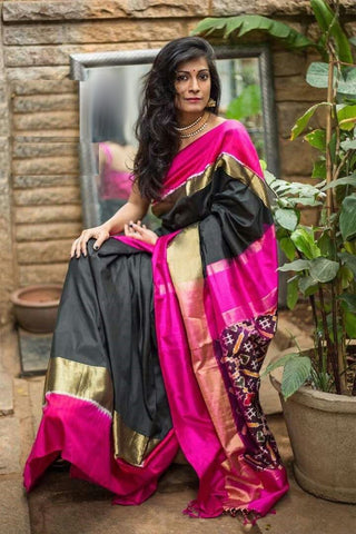 Beautiful Colour Soft Silk Designer Saree UK30167