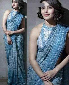 Awesome Colour Soft Silk Designer Saree UK30179