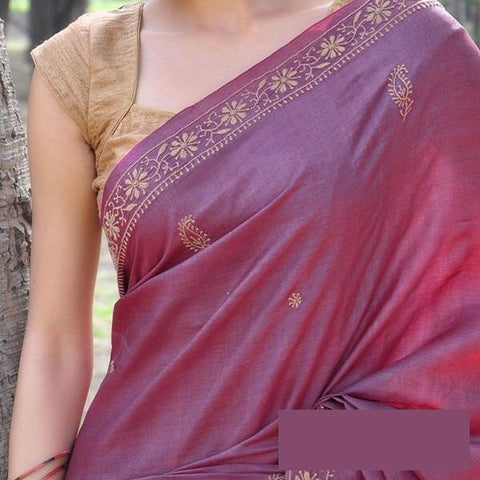 Beautiful Colour Soft Silk Designer Saree UK30183