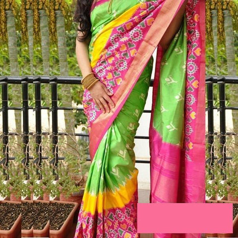 Awesome  Colour Soft Silk Designer Saree UK30186