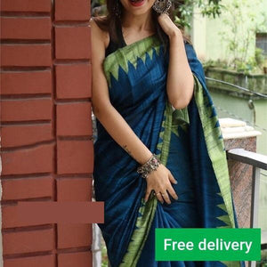 Awesome Colour Soft Silk Designer Saree UK30188