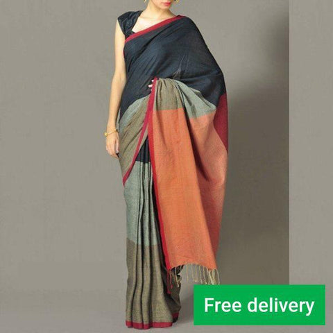 Beautiful Colour Soft Silk Designer Saree UK30189