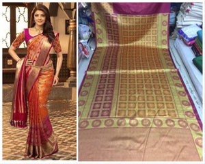 Awesome Colour Soft Silk Designer Saree UK30269