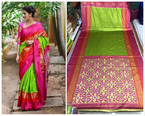 Beautiful Colour Soft Silk Designer Saree UK30270