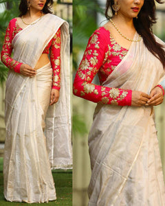 Multi Colour Soft Silk Designer Saree UK30376