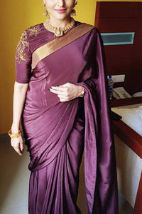Awosome Colour Soft Silk Designer Saree UK30030